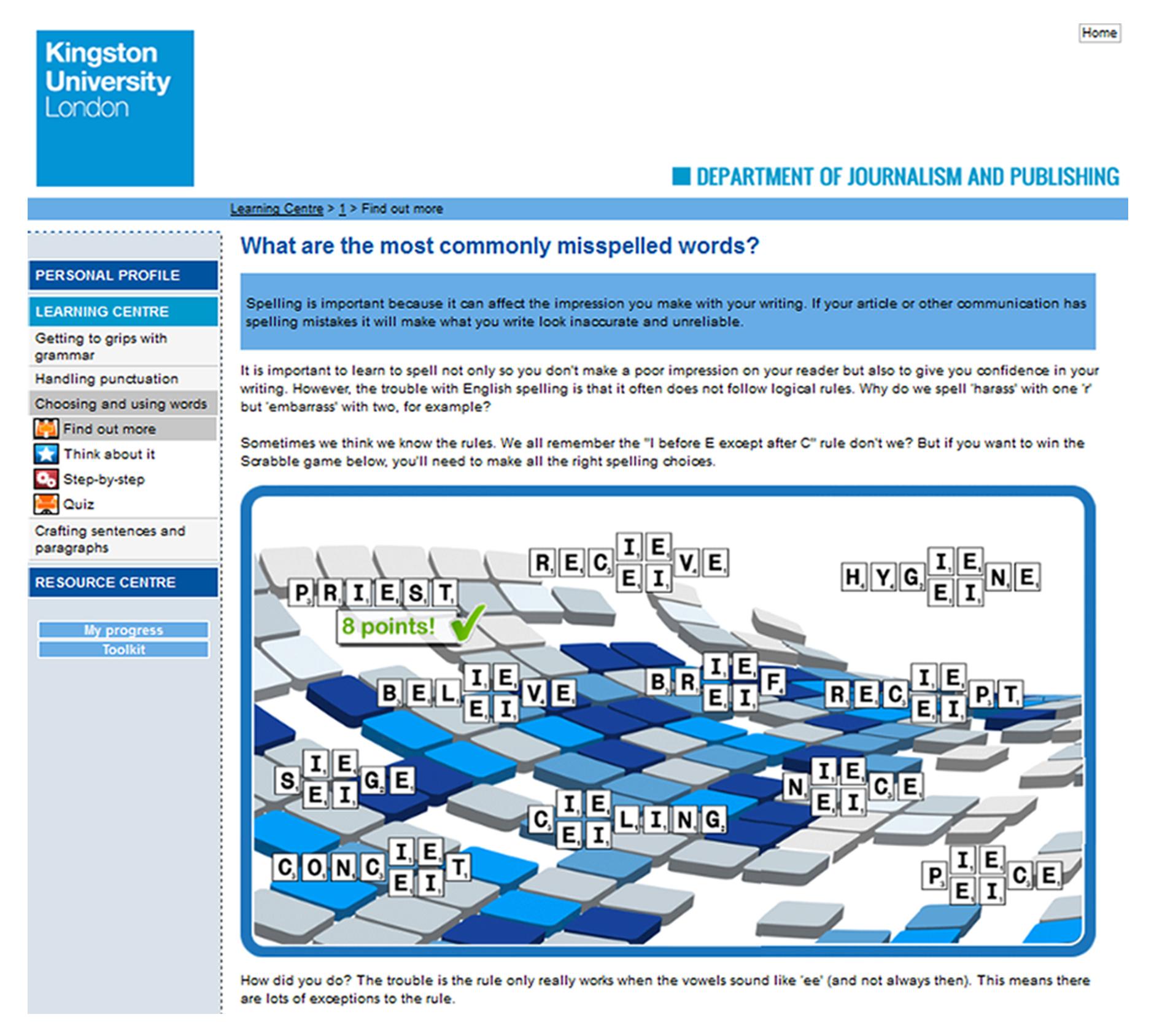 Sample program format for seminar presentation