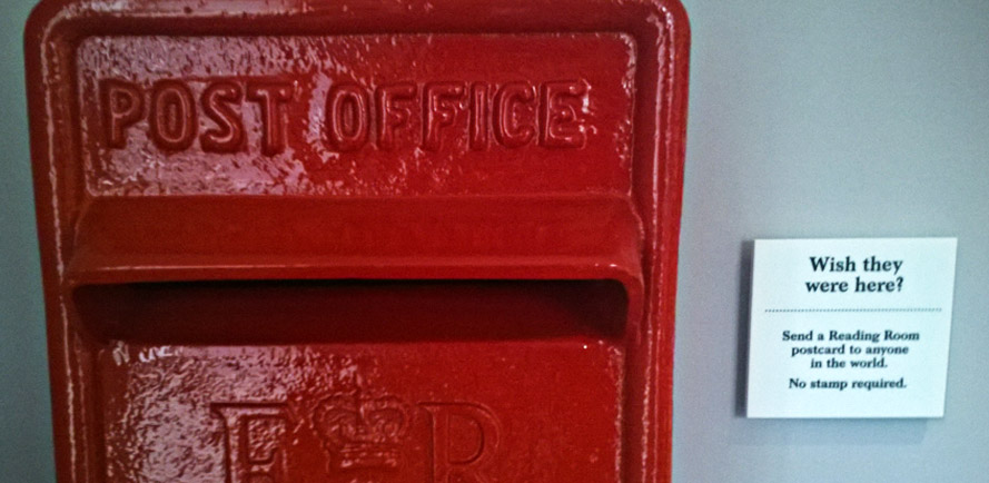 Reading Room postbox