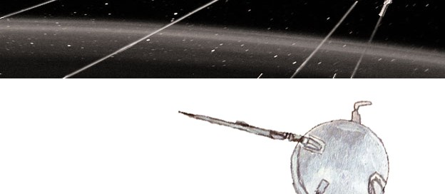 Sputnik 1 (top image © Science Museum)