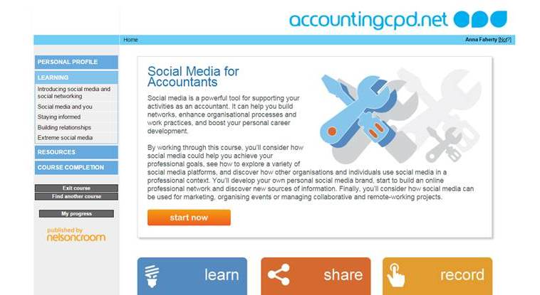 Social Media for Professionals screenshot1