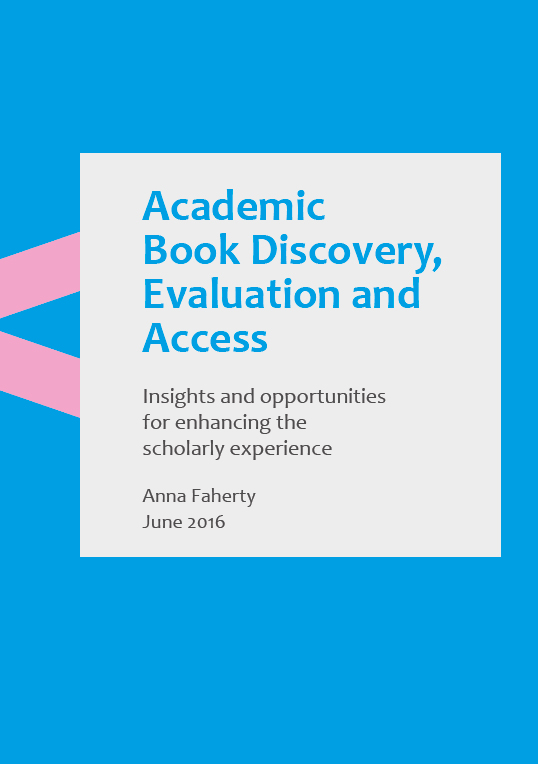 Cover of Academic Book Discovery report