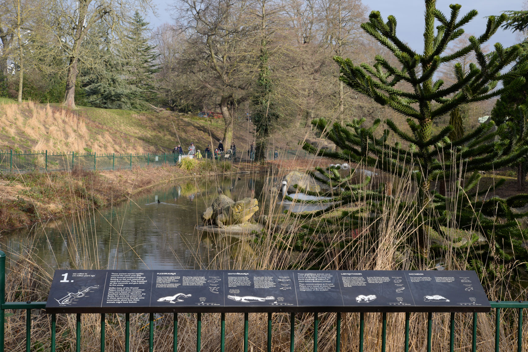 Crystal Palace Dinosaurs, London Borough of Bromley